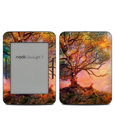 Barnes & Noble NOOK GlowLight 3 Skin - Fox Sunset