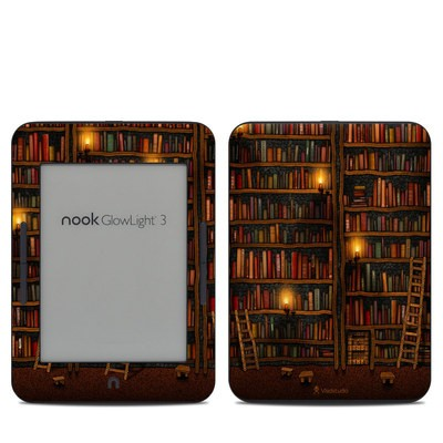 Barnes & Noble NOOK GlowLight 3 Skin - Library