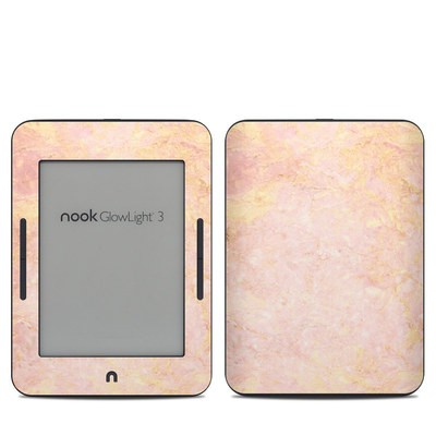 Barnes & Noble NOOK GlowLight 3 Skin - Rose Gold Marble