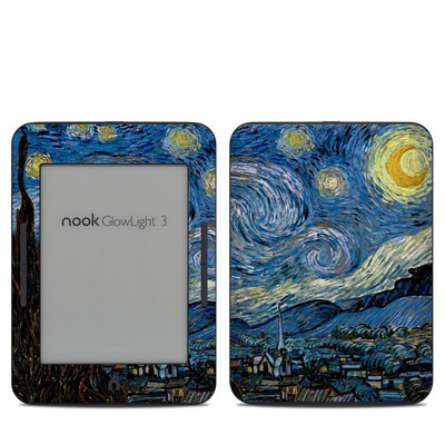 Barnes & Noble NOOK GlowLight 3 Skin - Starry Night