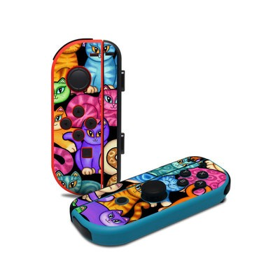 Nintendo Joy-Con Controller Skin - Colorful Kittens