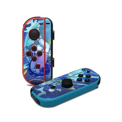 Nintendo Joy-Con Controller Skin - We Come in Peace