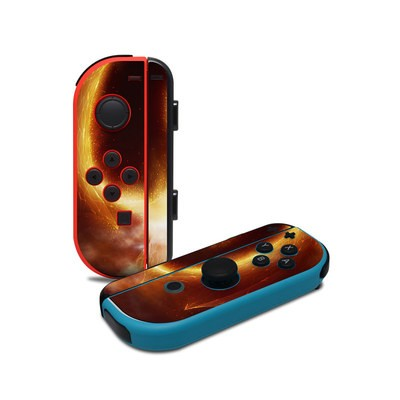Nintendo Joy-Con Controller - Fire Dragon
