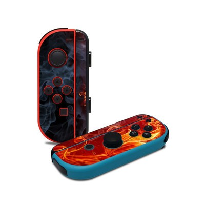 Nintendo Joy-Con Controller Skin - Flower Of Fire