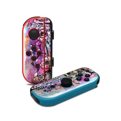 Nintendo Joy-Con Controller Skin - Hot House Flowers