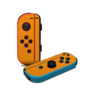 Nintendo Joy-Con Controller Skin - Solid State Orange