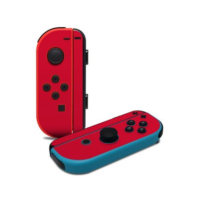 Nintendo Joy-Con Controller Skin - Solid State Red