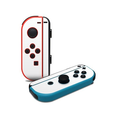 Nintendo Joy-Con Controller Skin - Solid State White