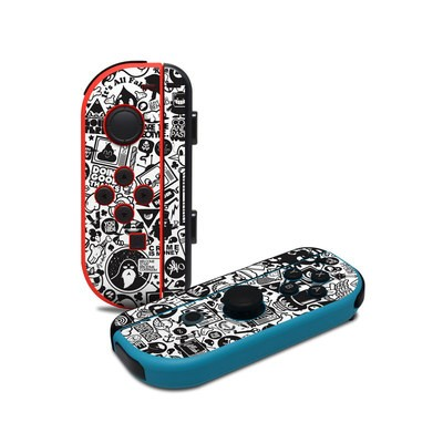 Nintendo Joy-Con Controller Skin - TV Kills Everything
