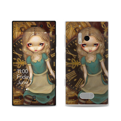Nokia Lumia 928 Skin - Alice Clockwork