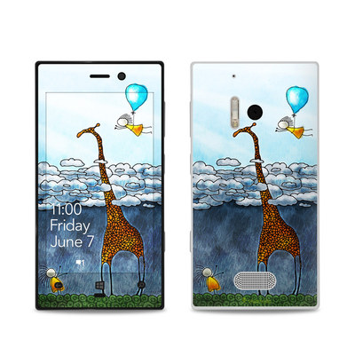 Nokia Lumia 928 Skin - Above The Clouds