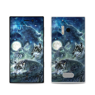 Nokia Lumia 928 Skin - Bark At The Moon