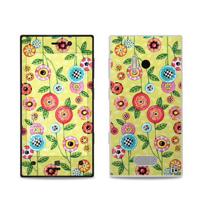 Nokia Lumia 928 Skin - Button Flowers