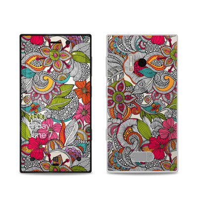 Nokia Lumia 928 Skin - Doodles Color