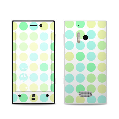 Nokia Lumia 928 Skin - Big Dots Mint