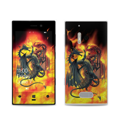 Nokia Lumia 928 Skin - Dragon Wars