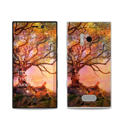 Nokia Lumia 928 Skin - Fox Sunset