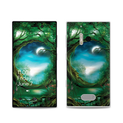 Nokia Lumia 928 Skin - Moon Tree