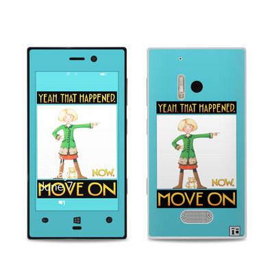 Nokia Lumia 928 Skin - Move On