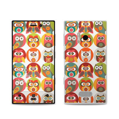 Nokia Lumia 928 Skin - Owls Family