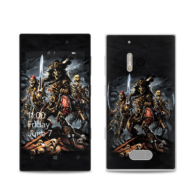 Nokia Lumia 928 Skin - Pirates Curse