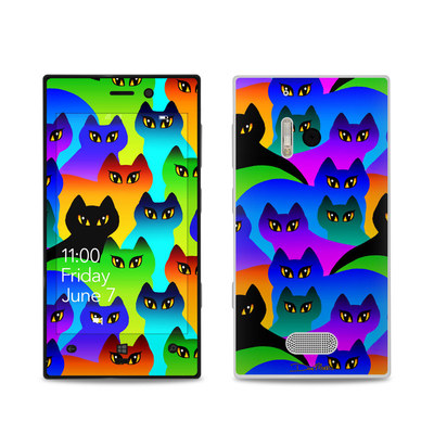 Nokia Lumia 928 Skin - Rainbow Cats