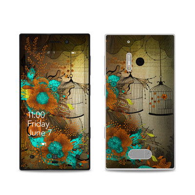 Nokia Lumia 928 Skin - Rusty Lace