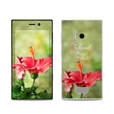 Nokia Lumia 928 Skin - She Believed