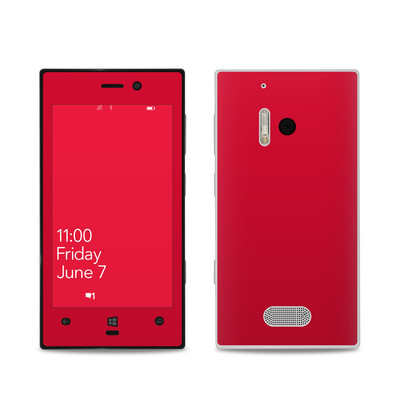Nokia Lumia 928 Skin - Solid State Red