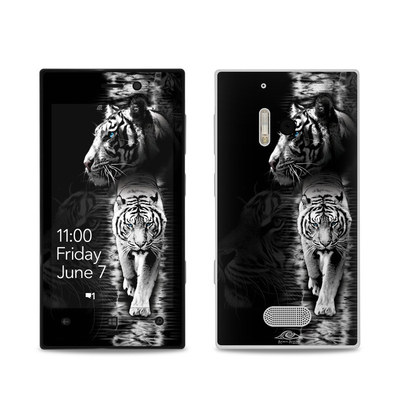 Nokia Lumia 928 Skin - White Tiger