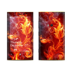 Nokia Lumia 920 Skin - Flower Of Fire