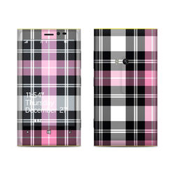 Nokia Lumia 920 Skin - Pink Plaid