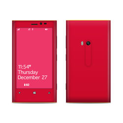 Nokia Lumia 920 Skin - Solid State Red