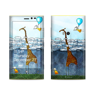 Nokia Lumia 920 Skin - Above The Clouds