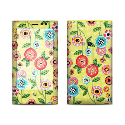 Nokia Lumia 920 Skin - Button Flowers