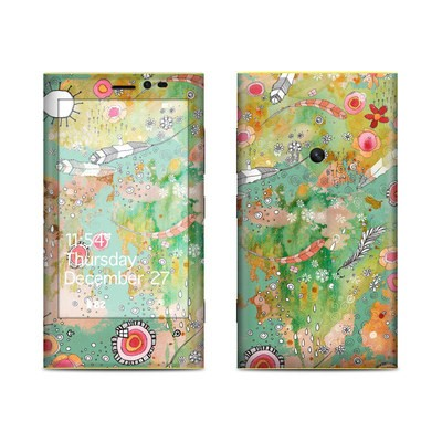 Nokia Lumia 920 Skin - Feathers Flowers Showers