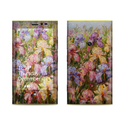 Nokia Lumia 920 Skin - Field Of Irises