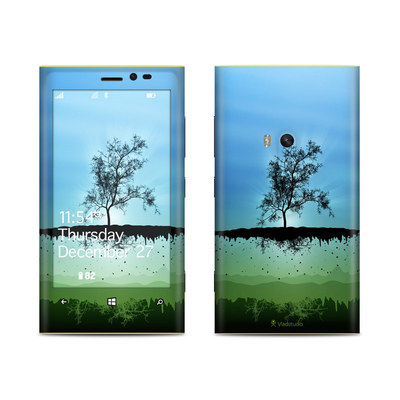 Nokia Lumia 920 Skin - Flying Tree Blue