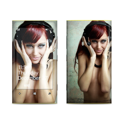 Nokia Lumia 920 Skin - Headphones