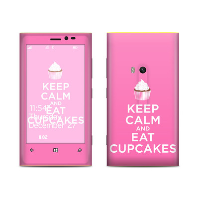 Nokia Lumia 920 Skin - Keep Calm - Cupcakes