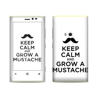 Nokia Lumia 920 Skin - Keep Calm - Mustache