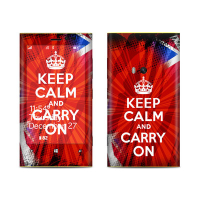 Nokia Lumia 920 Skin - Keep Calm - Burst