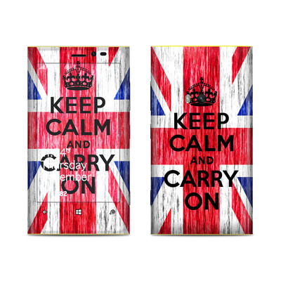 Nokia Lumia 920 Skin - Keep Calm - Grunge
