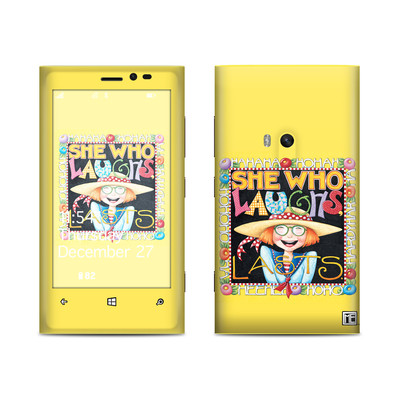 Nokia Lumia 920 Skin - She Who Laughs