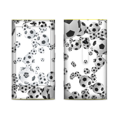 Nokia Lumia 920 Skin - Lots of Soccer Balls