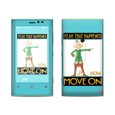 Nokia Lumia 920 Skin - Move On