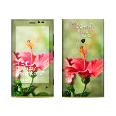 Nokia Lumia 920 Skin - She Believed
