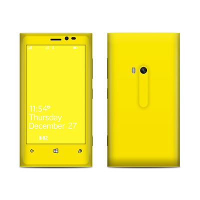 Nokia Lumia 920 Skin - Solid State Yellow