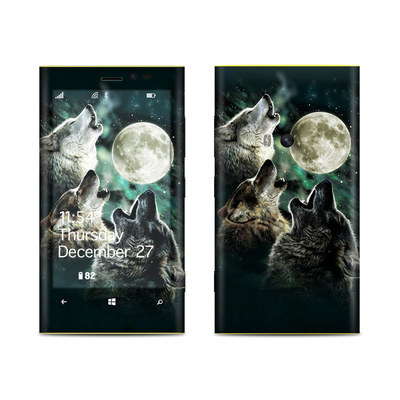 Nokia Lumia 920 Skin - Three Wolf Moon