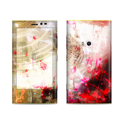 Nokia Lumia 920 Skin - Woodflower